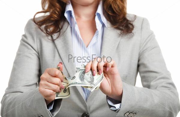 Фотография на тему Концепция бизнеса с долларами