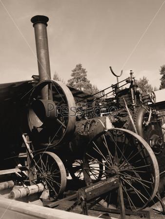 Фотография на тему Старинный паровоз