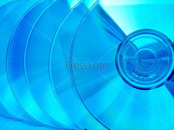 Фотография на тему Голубые компакт-диски