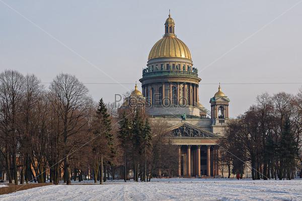 Фотография на тему Исаакиевский собор, Санкт-Петербург, Россия