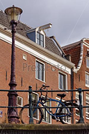 Велосипед в Амстердаме, Голландия