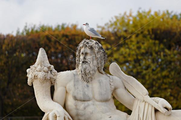 Фотография на тему Франция Победоносная - статуя в Париже
