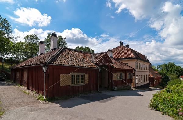 Шведский деревенский дом