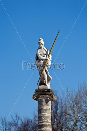 Кусково. Скульптура богини Афины