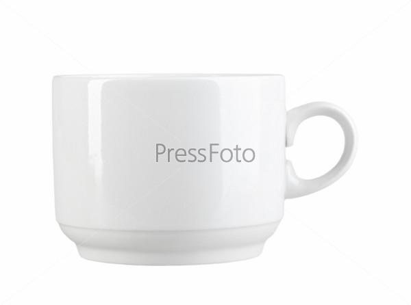 Чистая чашка современного дизайна