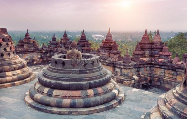 Фотография на тему Храм Боробудур