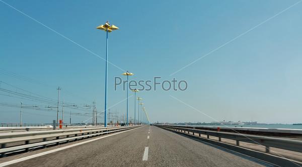 Дорога в Венеции