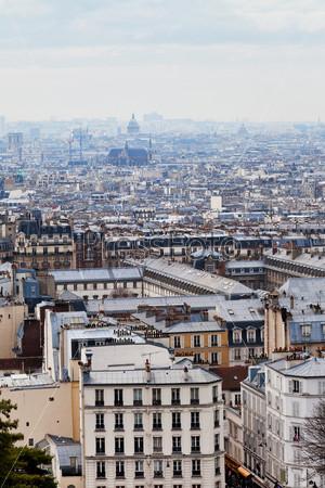 Вид Парижа с Пантеона