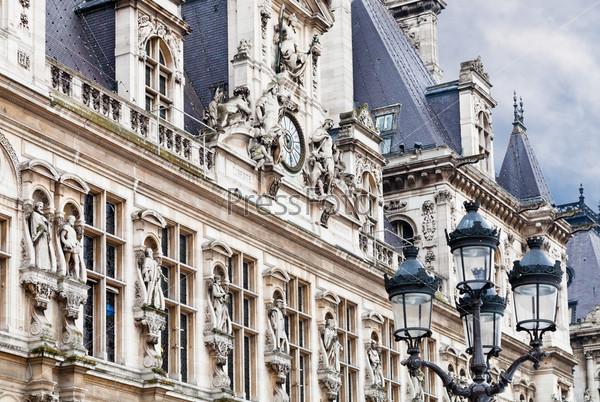 Фотография на тему Отель де Виль (Ратуша) в Париже