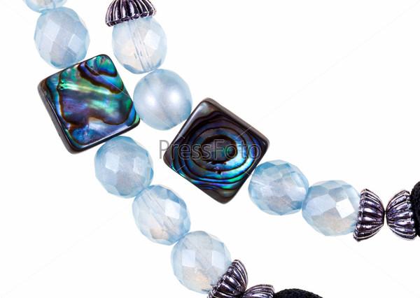 Женское ожерелье ручной работы