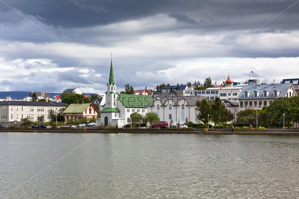 Фотография на тему Столица Исландии Рейкьявик