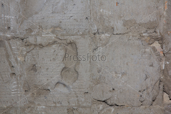 Текстурированная бетонная стена