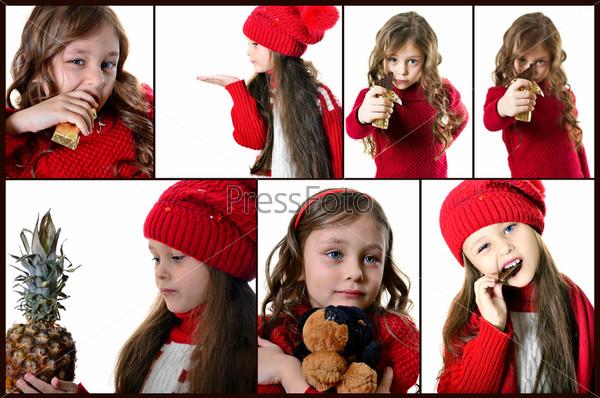 Фотография на тему Портрет красивой девочки