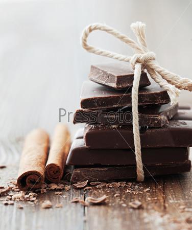 Шоколад и корица