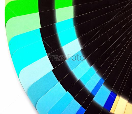 Бумажная цветная диаграмма