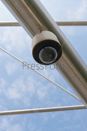 Фотография на тему Высокотехнологичная камера безопасности