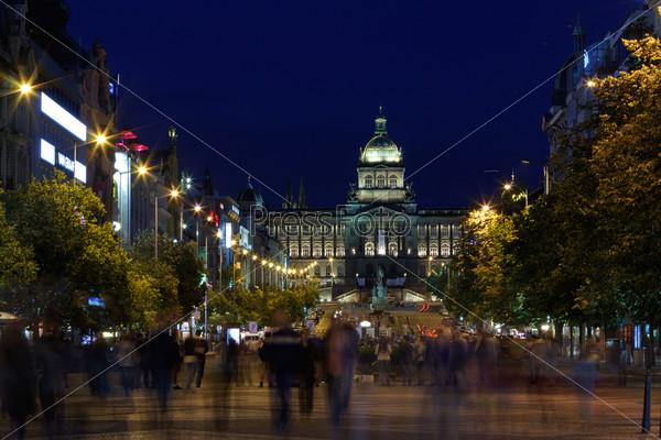 Фотография на тему Ночная Прага