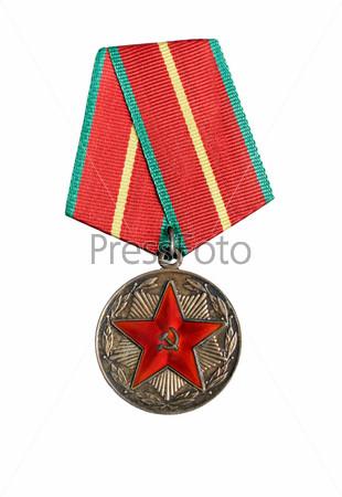 Фотография на тему Российская медаль крупным планом