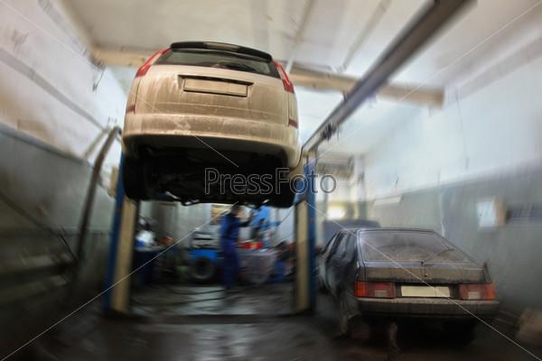 Ремонтный гараж