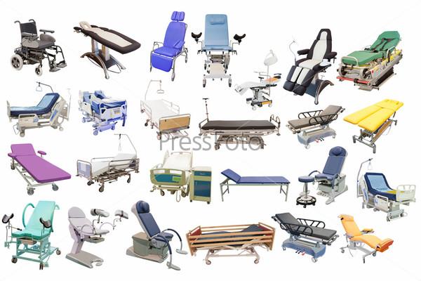 Фотография на тему Медицинские кровати и кресла