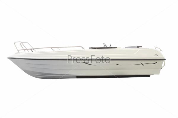 Фотография на тему Моторная лодка