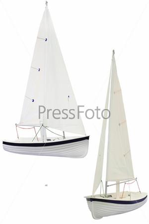 Фотография на тему Парусная яхта