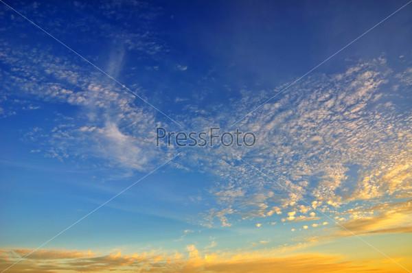 Фотография на тему Красивый закат