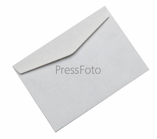 Конверт, изолированный на белом фоне