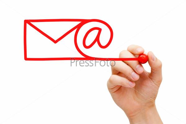 Фотография на тему Концепция электронной почты