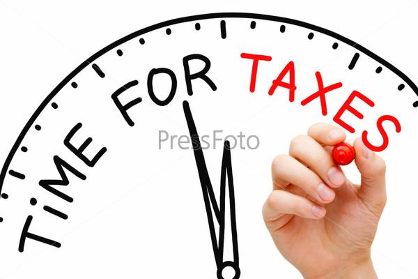 Фотография на тему Время платить налоги