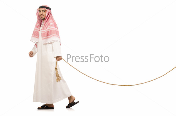 Араб перетягивает канат