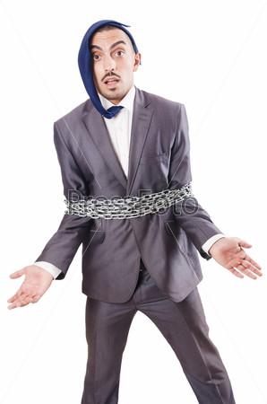 Арестованный бизнесмен в студии