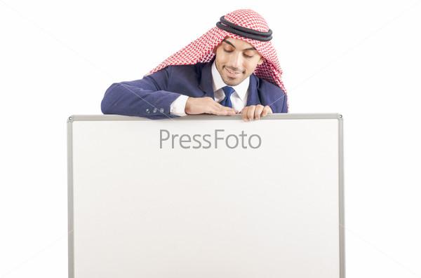 Фотография на тему Араб с доской
