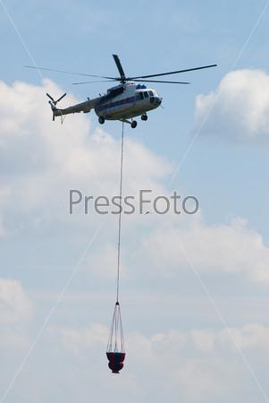 Фотография на тему Пожарный вертолет