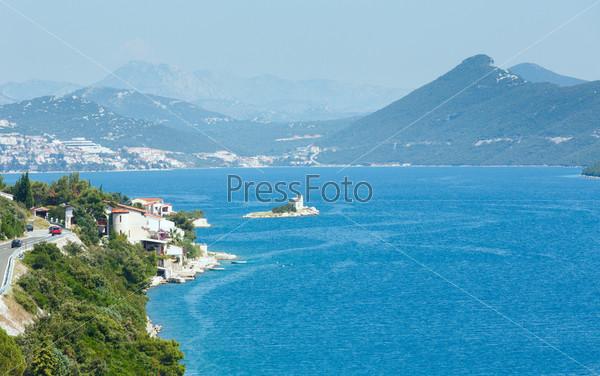 Лето на побережье море (Хорватия)