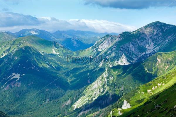 Фотография на тему Летние горы Татры, Польша