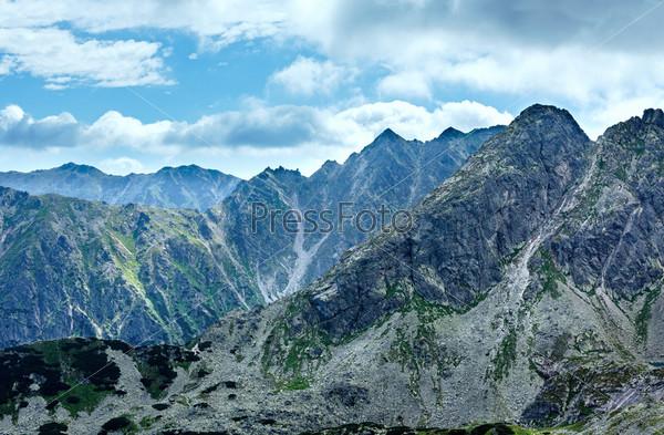 Летние горы Татры, Польша