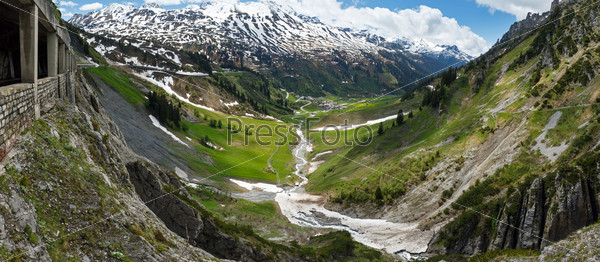 Альпийский пейзаж (Форарльберг, Австрия)