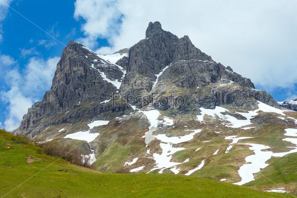 Фотография на тему Альпийский пейзаж (Форарльберг, Австрия)