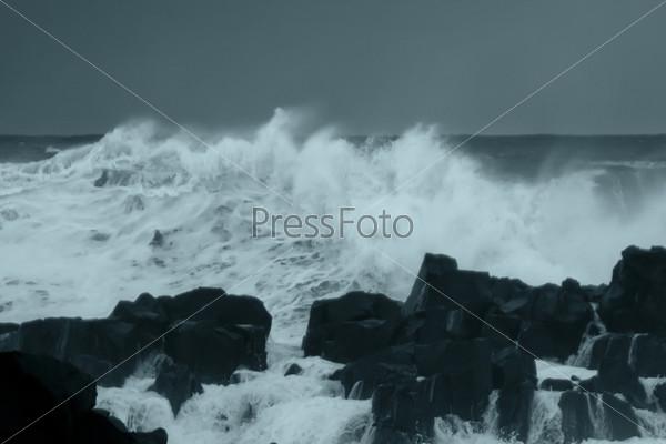 Фотография на тему Шторм в океане