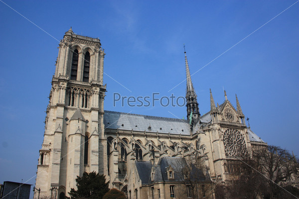 Собор Париижской Богоматери. Париж, Франция