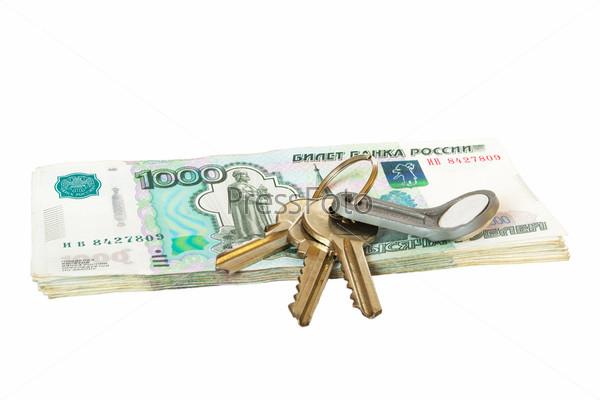 Ключи на рублевых купюрах