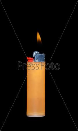 Фотография на тему Зажигалка с пламенем