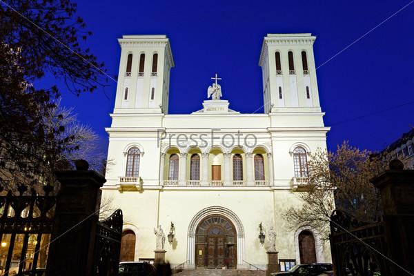 Фотография на тему Лютеранская церковь Святого Петра в Санкт-Петербурге