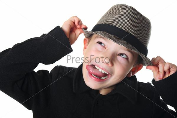 Мальчик в шляпе