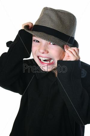 Фотография на тему Мальчик в шляпе