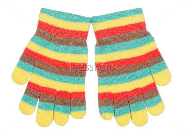 Полосатые перчатки
