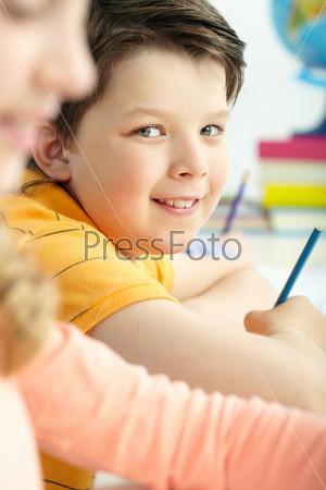 Фотография на тему Лицо мальчика