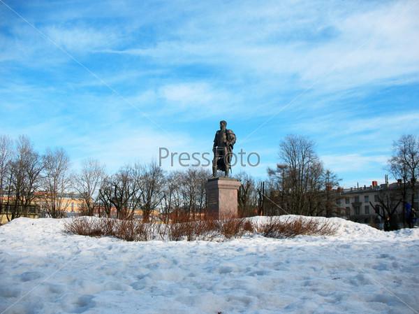 Памятник генералу от инфантерии князю П.И. Багратиону в Санкт-Петербурге