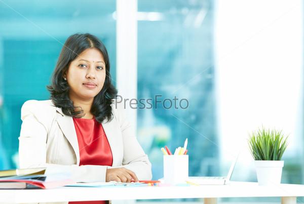 Женщина на рабочем месте